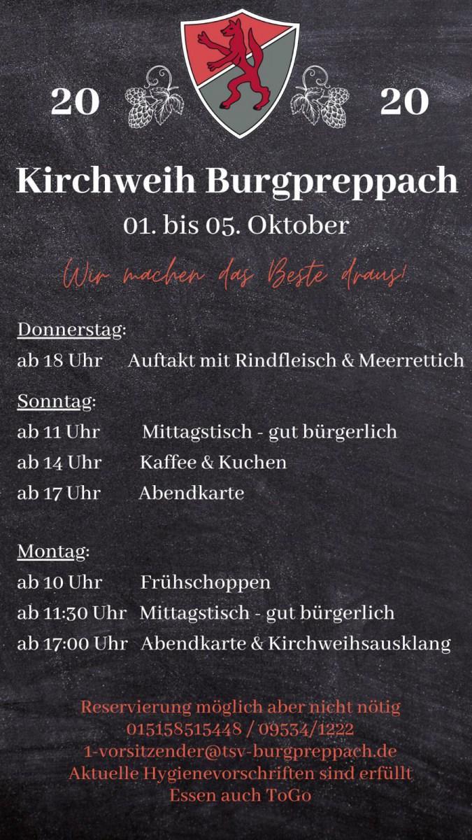 Kirchweih Burgpreppach